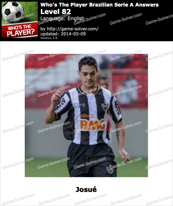 Who's The Player Brazilian Serie A Level 82