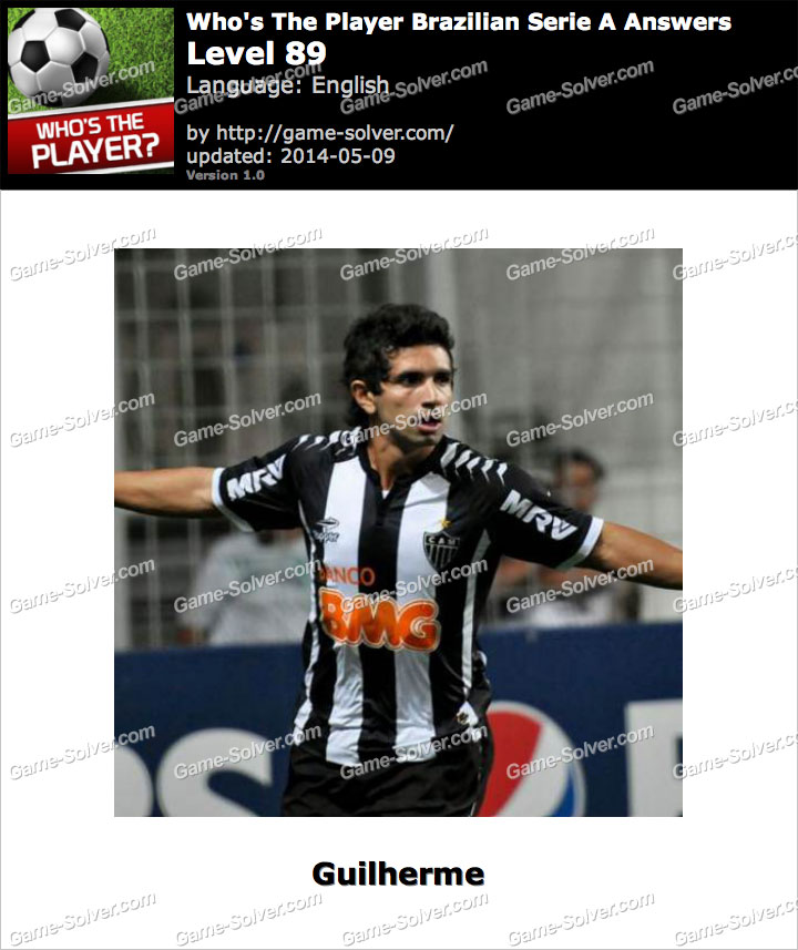 Who's The Player Brazilian Serie A Level 89