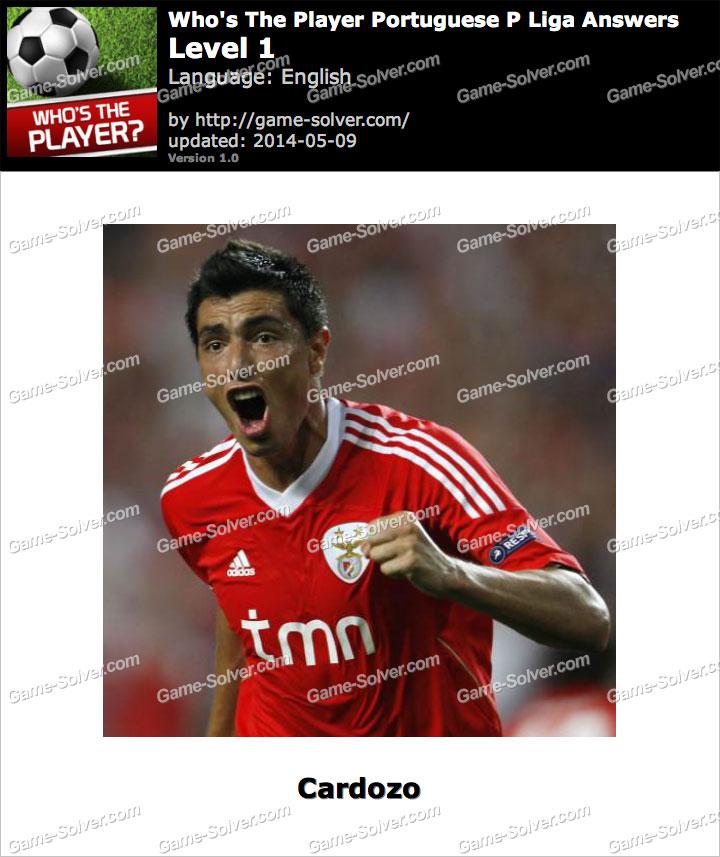 Who's The Player Portuguese P Liga Level 1