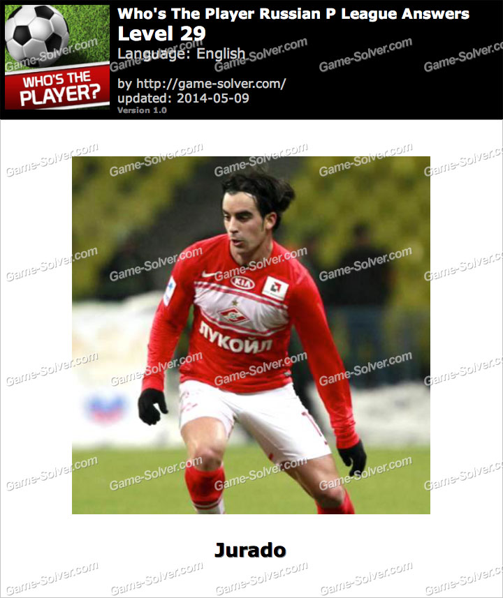 Who's The Player Russian P League Level 29