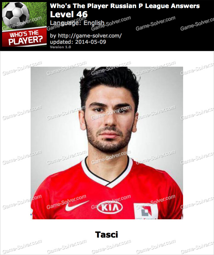 Who's The Player Russian P League Level 46
