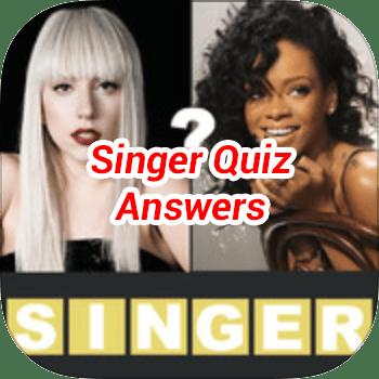 Singer Quiz Answers