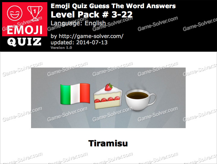 Emoji Quiz Guess the Word Level Pack 3-22
