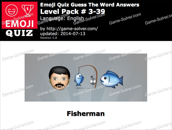 Emoji Quiz Guess the Word Level Pack 3-39