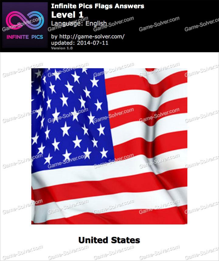 Infinite Pics Flags Level 1