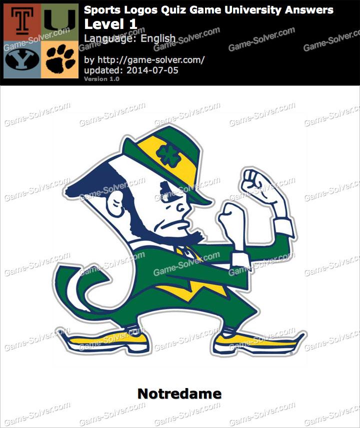 Sports Logos Quiz Game University Level 1