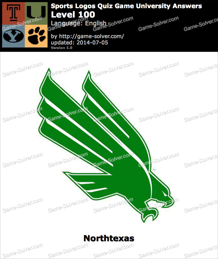 Sports Logos Quiz Game University Level 100