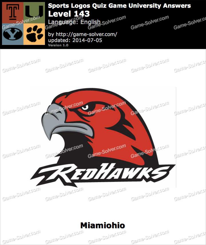 Sports Logos Quiz Game University Level 143