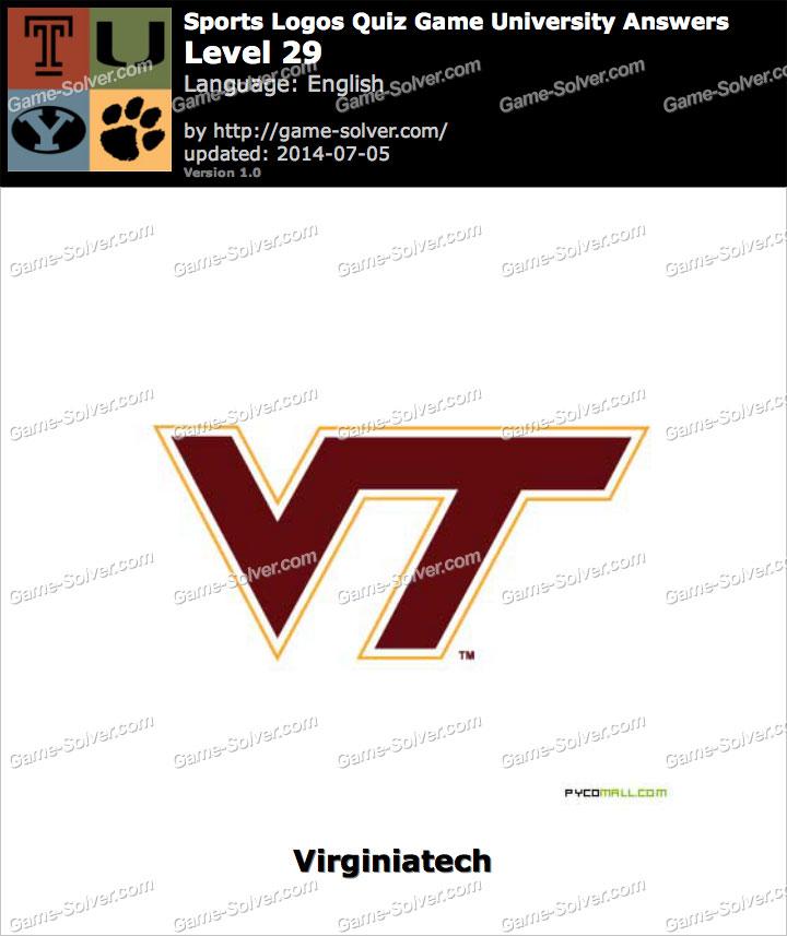 Sports Logos Quiz Game University Level 29