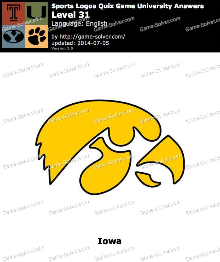 Sports Logos Quiz Game University Level 31