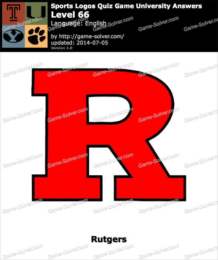 Sports Logos Quiz Game University Level 66