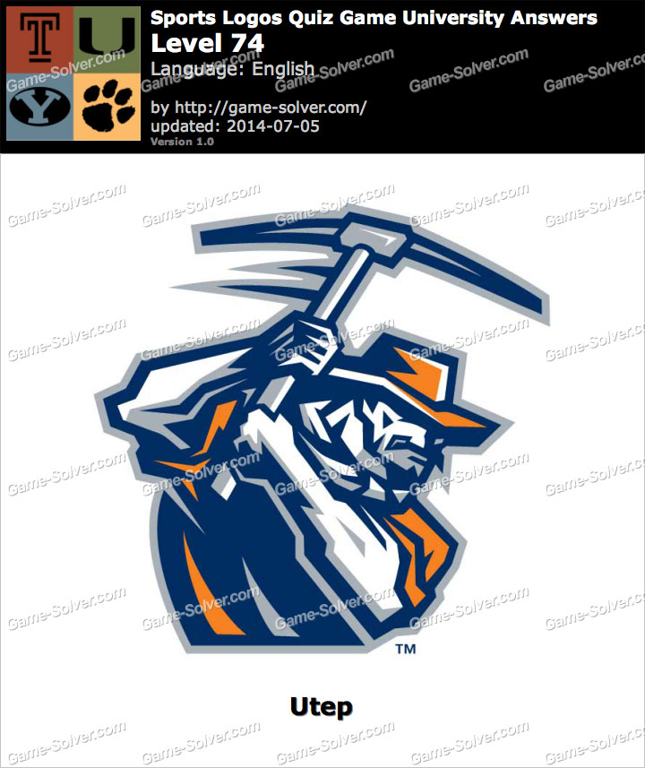 Sports Logos Quiz Game University Level 74