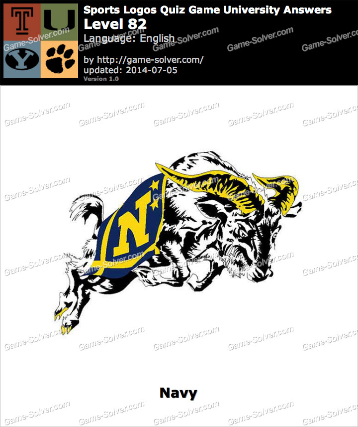 Sports Logos Quiz Game University Level 82