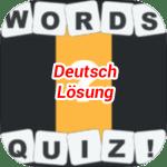 Words Quiz Lösung Deutsch