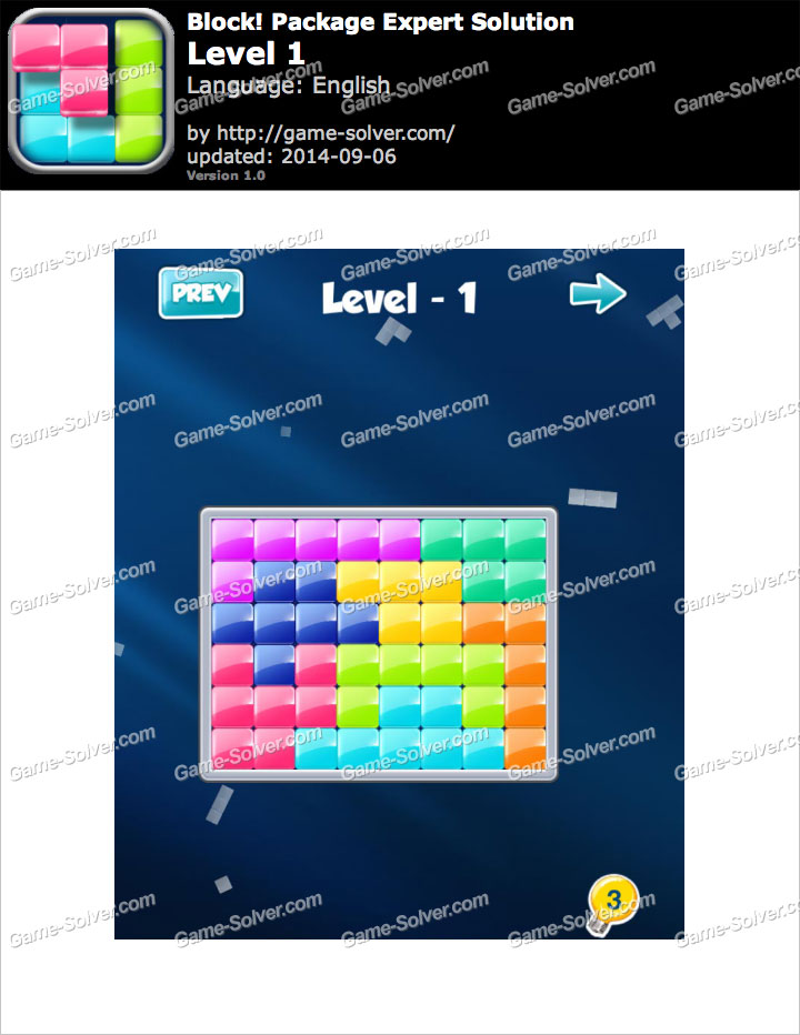 Block! Package Expert Level 1