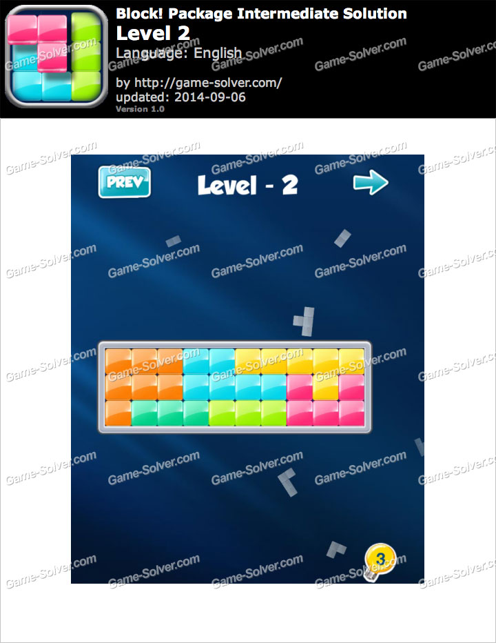 Block! Package Intermediate Level 2
