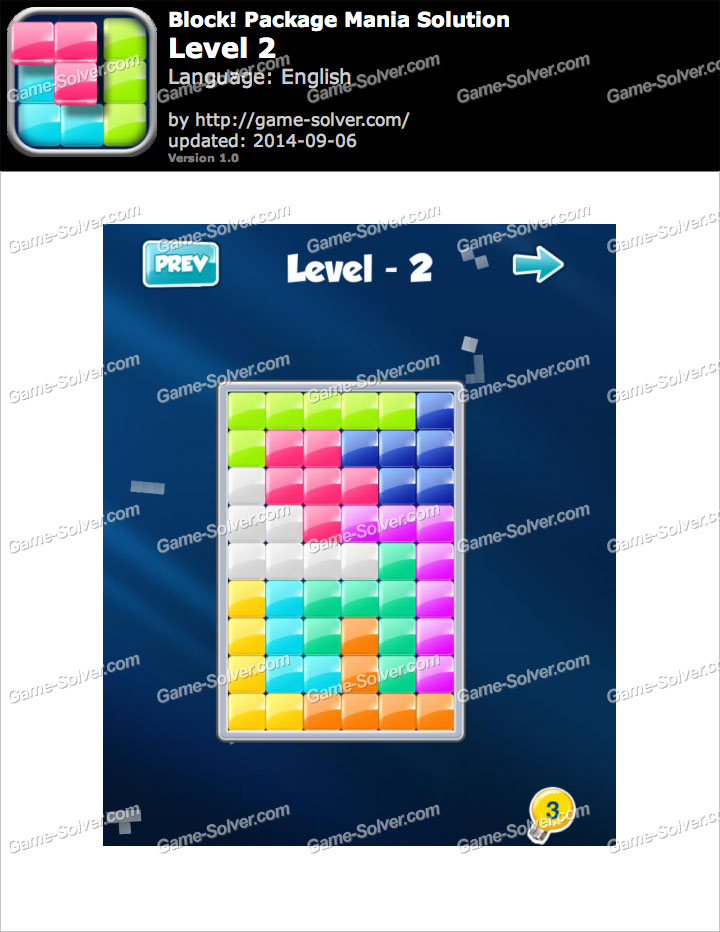 Block! Package Mania Level 2