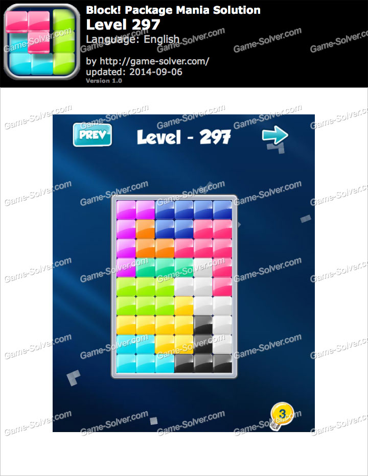 Block! Package Mania Level 297
