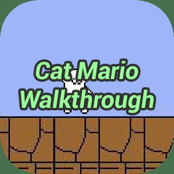 Cat Mario Walkthrough