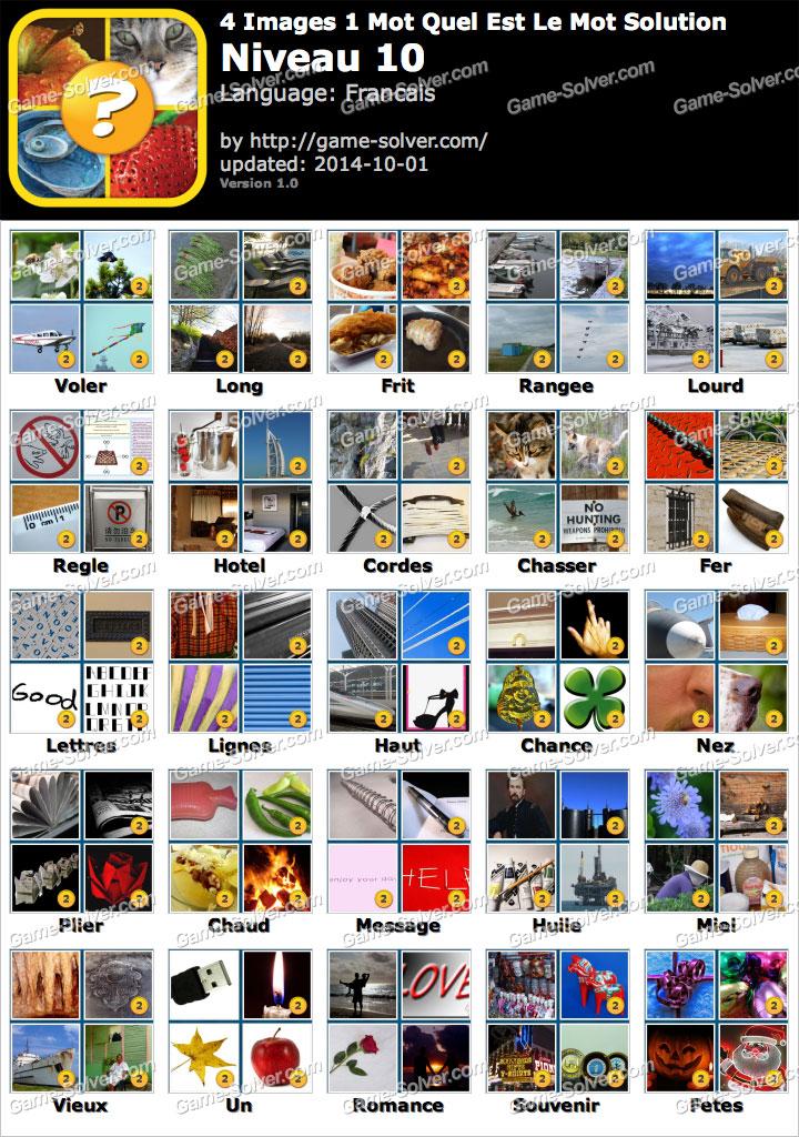 4 Images 1 Mot Quel Est Le Mot Niveau 10 Game Solver