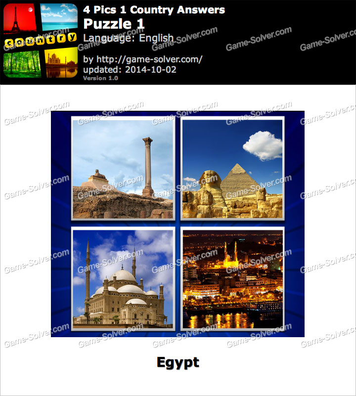 4 Pics 1 Country Puzzle 1