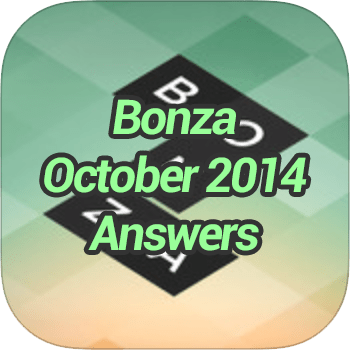 Bonza October Answers