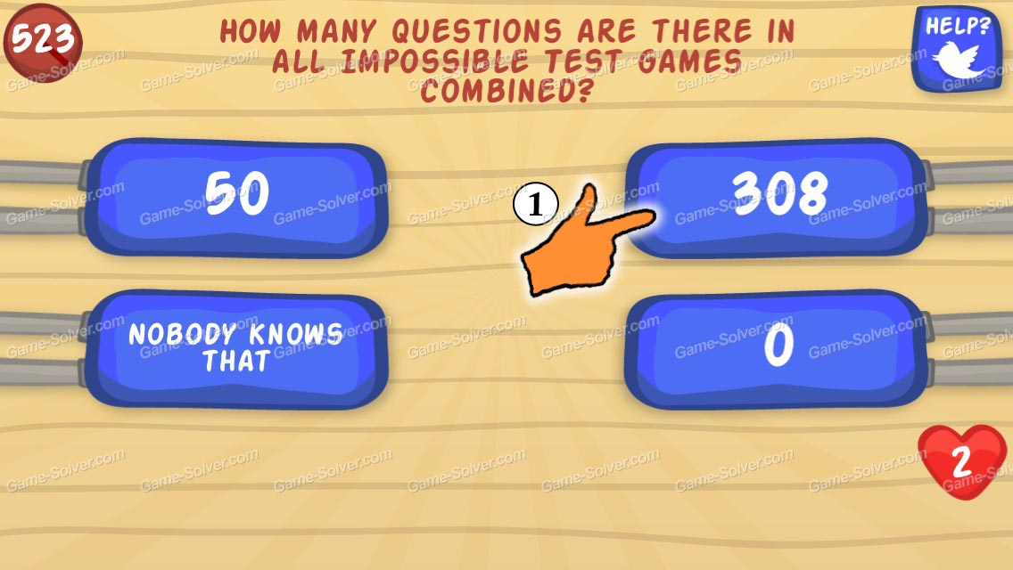 The Impossible Test 3 Level 43