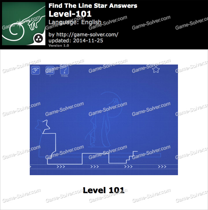 Find The Line Star Level 101