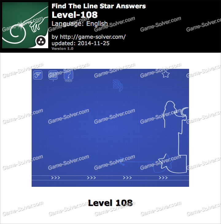 Find The Line Star Level 108