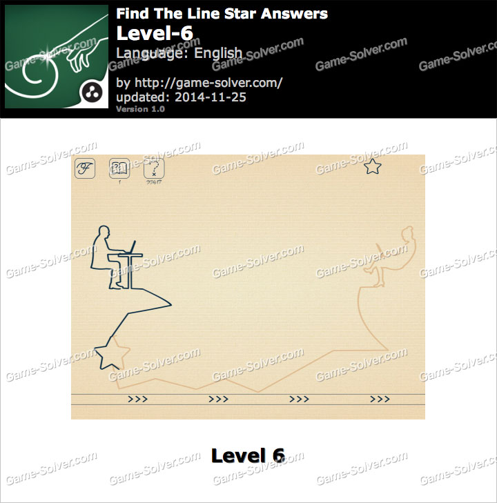 Find The Line Star Level 6