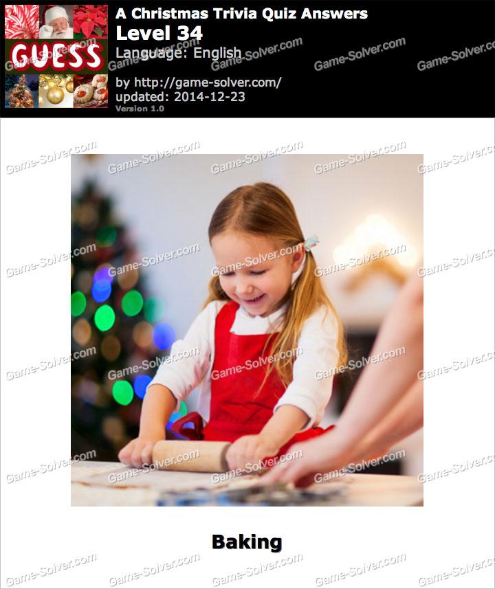 A Christmas Trivia Quiz Level 34