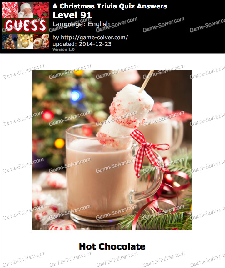A Christmas Trivia Quiz Level 91