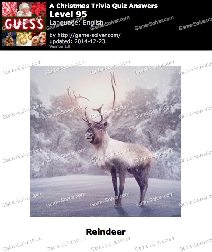 A Christmas Trivia Quiz Level 95