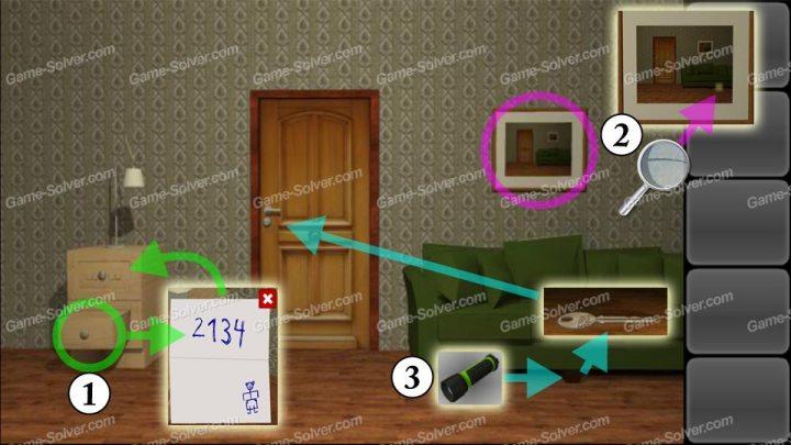 Escape 10 Magic Rooms Stage 1