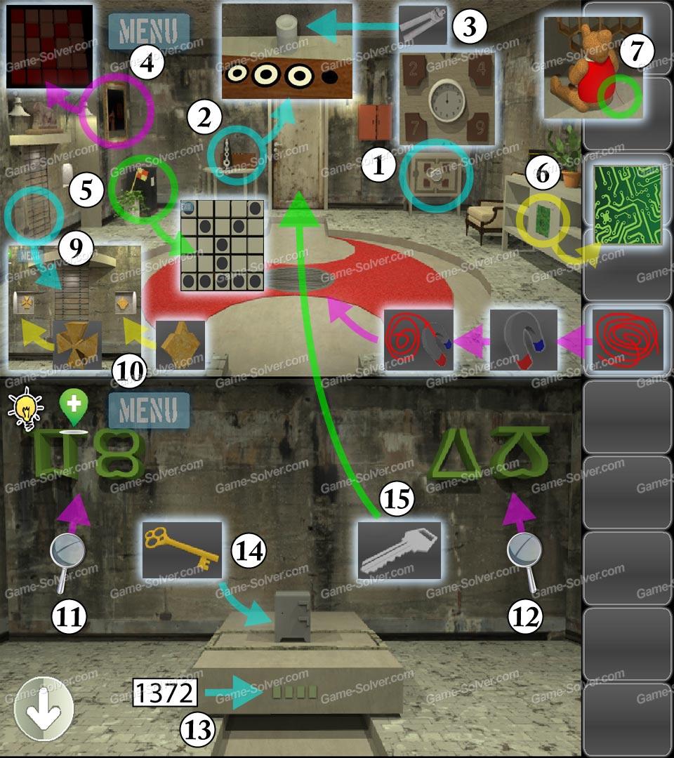 Escape 10 Magic Rooms Stage 10