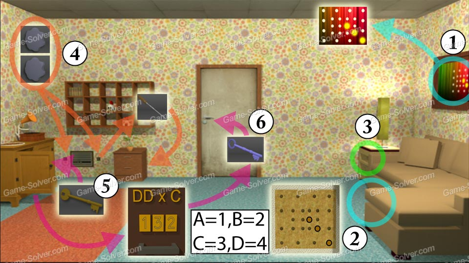 Escape 10 Magic Rooms Stage 7