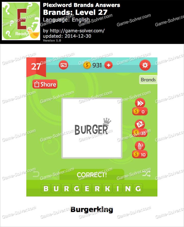 Plexiword Brands Level 27