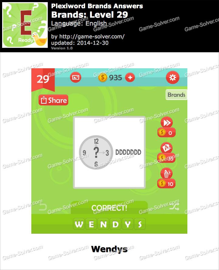 Plexiword Brands Level 29