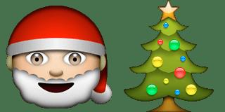 Guess Up Emoji Christmas