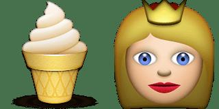 Guess Up Emoji Dairy Queen