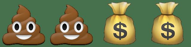 Guess Up Emoji Filthy Rich