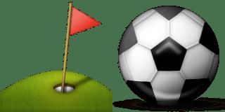 Guess Up Emoji Golf Ball
