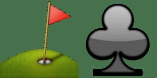 Guess Up Emoji Golf Club