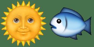 Guess Up Emoji Sunfish