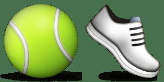 Guess Up Emoji Tennis Shoe