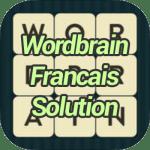 Wordbrain Francais Solution