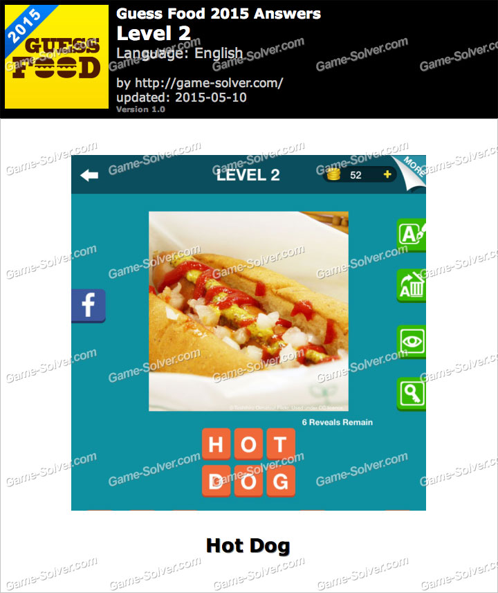Guess Food 2015 Level 2