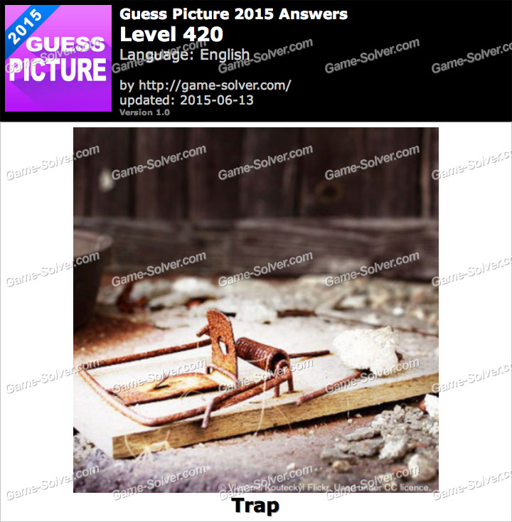Guess Picture 2015 Level 420