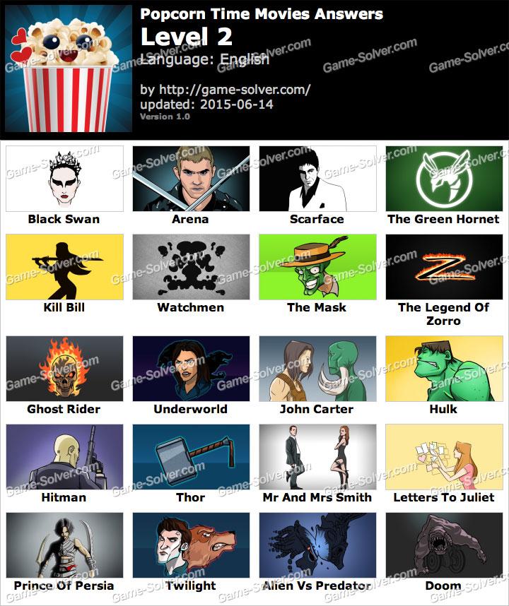 Popcorn Time Movies Level 2