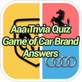 Aaa Trivia Quiz Game of Car Brand Answers